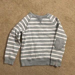 Striped long sleeved shirt